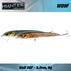 Hunter Wolf  9cm / 6g Floating