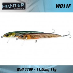 Hunter Wolf 11cm / 11g Floating