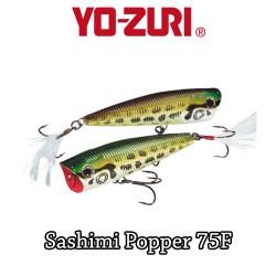 YO-ZURI SASHIMI POPPER 7,5 CM FLOATING