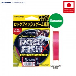 Raiglon Sparta Line Rockfish X Fluorocarbon 100m Pink