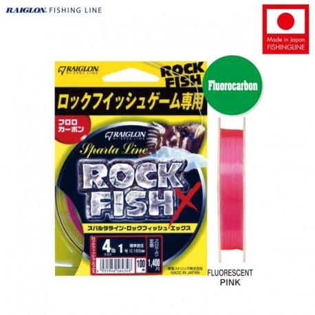 Raiglon Sparta Line Rockfish X Fluorocarbon 100m
