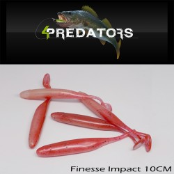 4Predators Finesse Impact 10cm Floating (5buc/plic)